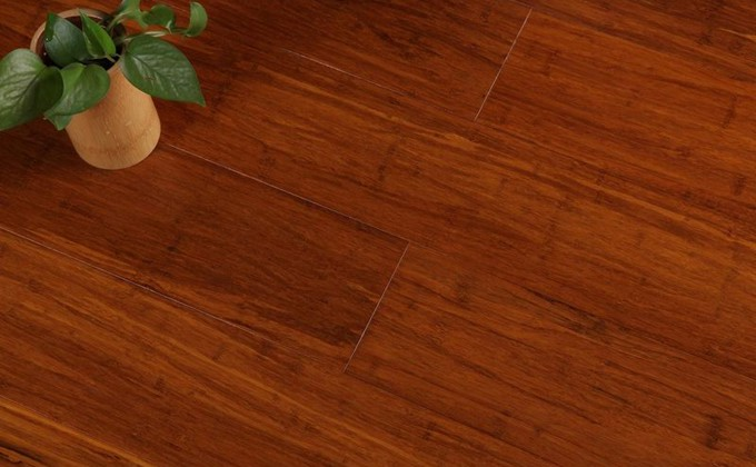 stained strand bamoo flooring