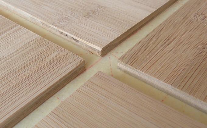 Bamboo Paneling Product : Horizontal caramel bamboo panels sustainable paneling
