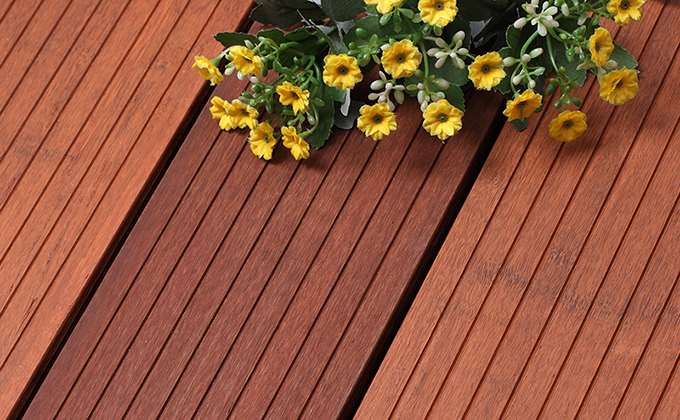 Bamboo Decking Profile K